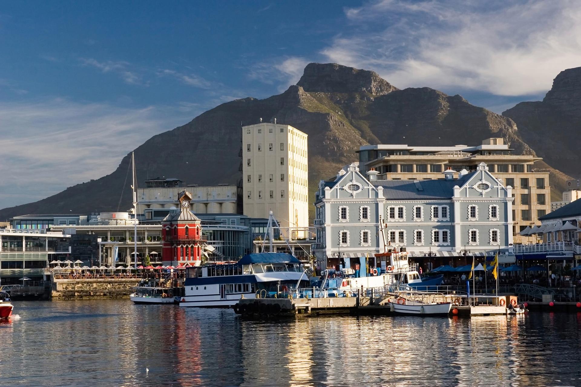 Kapstaden waterfront