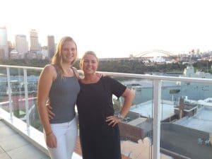 frida och veronica studerar i australien