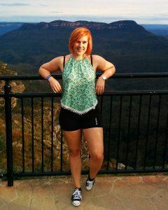 Sara studerar digital design JMC Academy Sydney