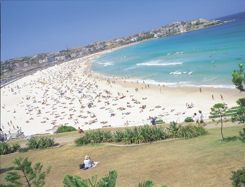 Studera i Sydney - Bondi beach