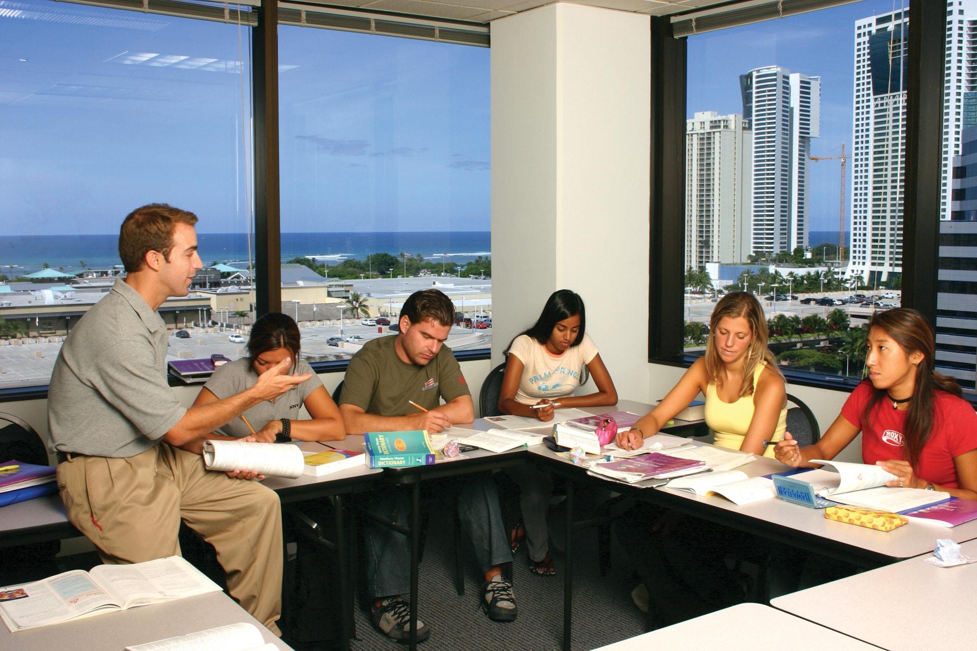 plugga engelska hawaii språkkurs språkresa