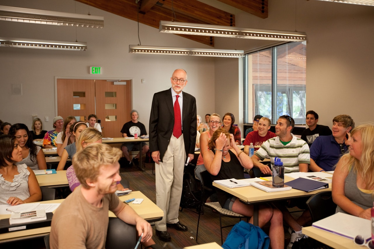 Sierra Nevada College USA studenter klassrum