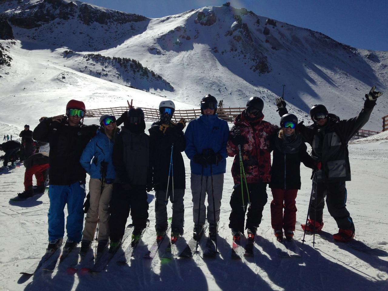 college och skidåkning i usa sierra nevada college