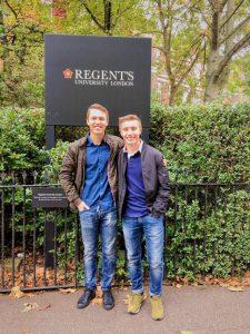 studenter regents university business london