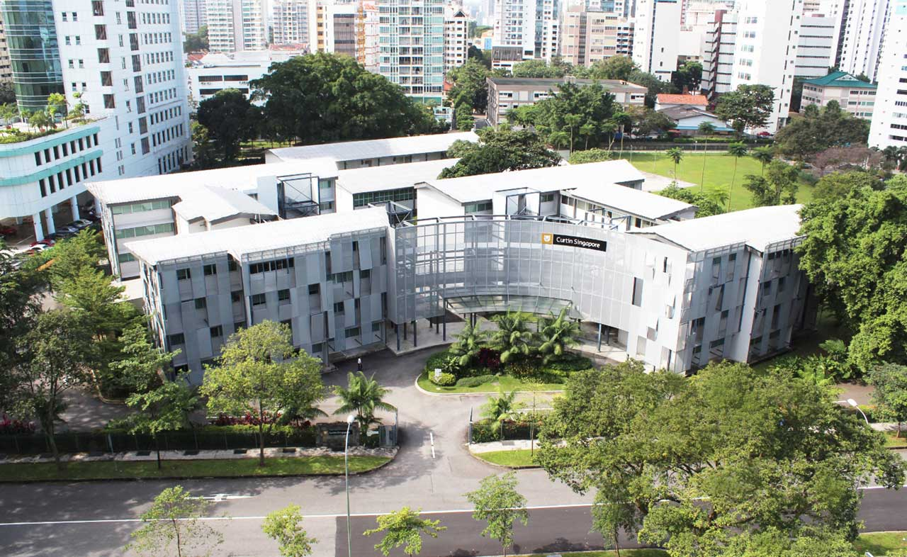 studera universitet i singapore curtin university campus