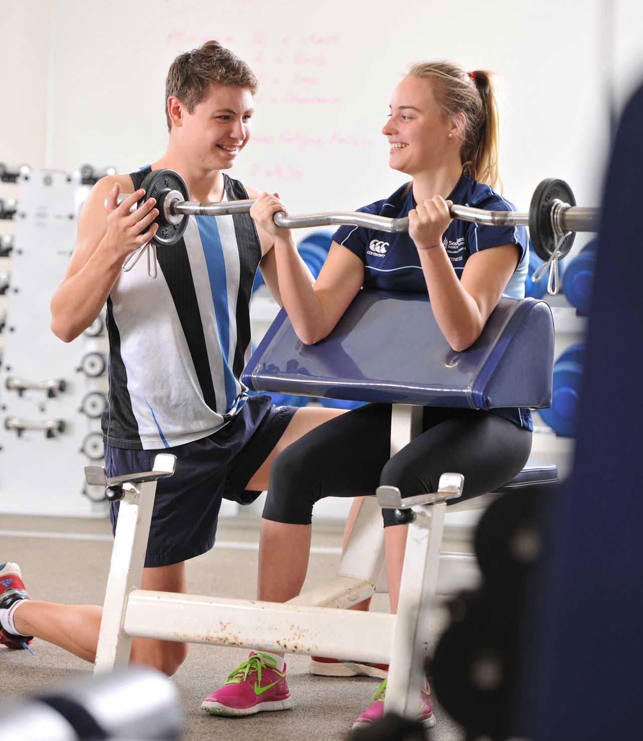 utbildning fitness och personal trainer