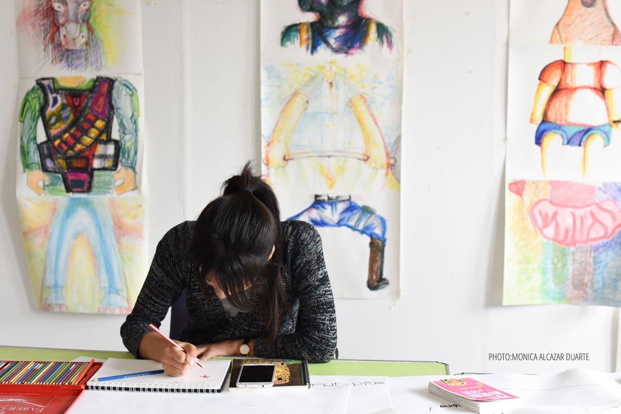 studera mode fashion design foto london