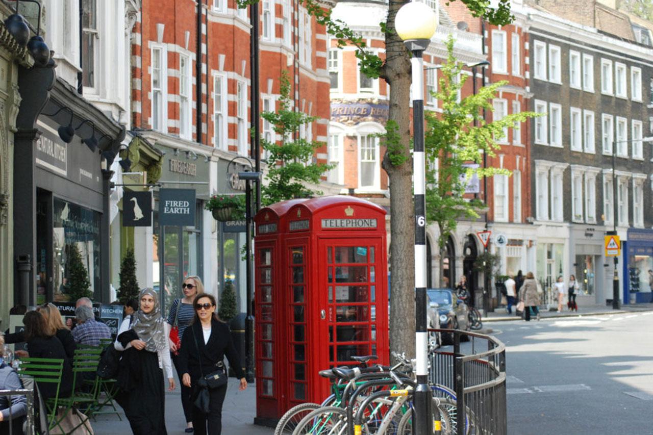 studera engelska london