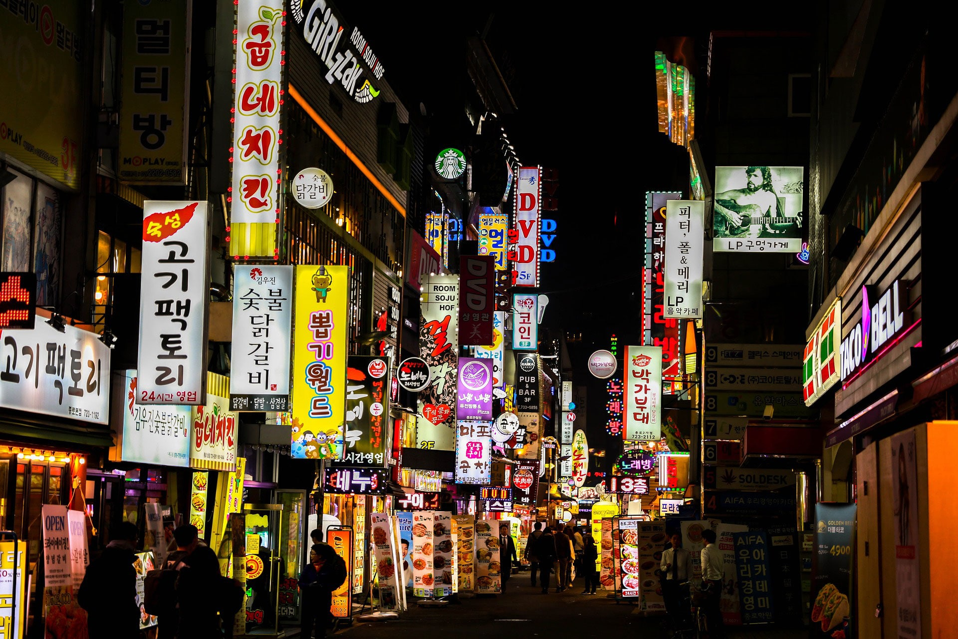 studera koreanska i korea