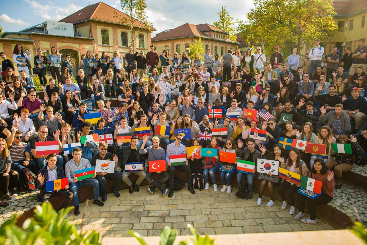 studenter budapest