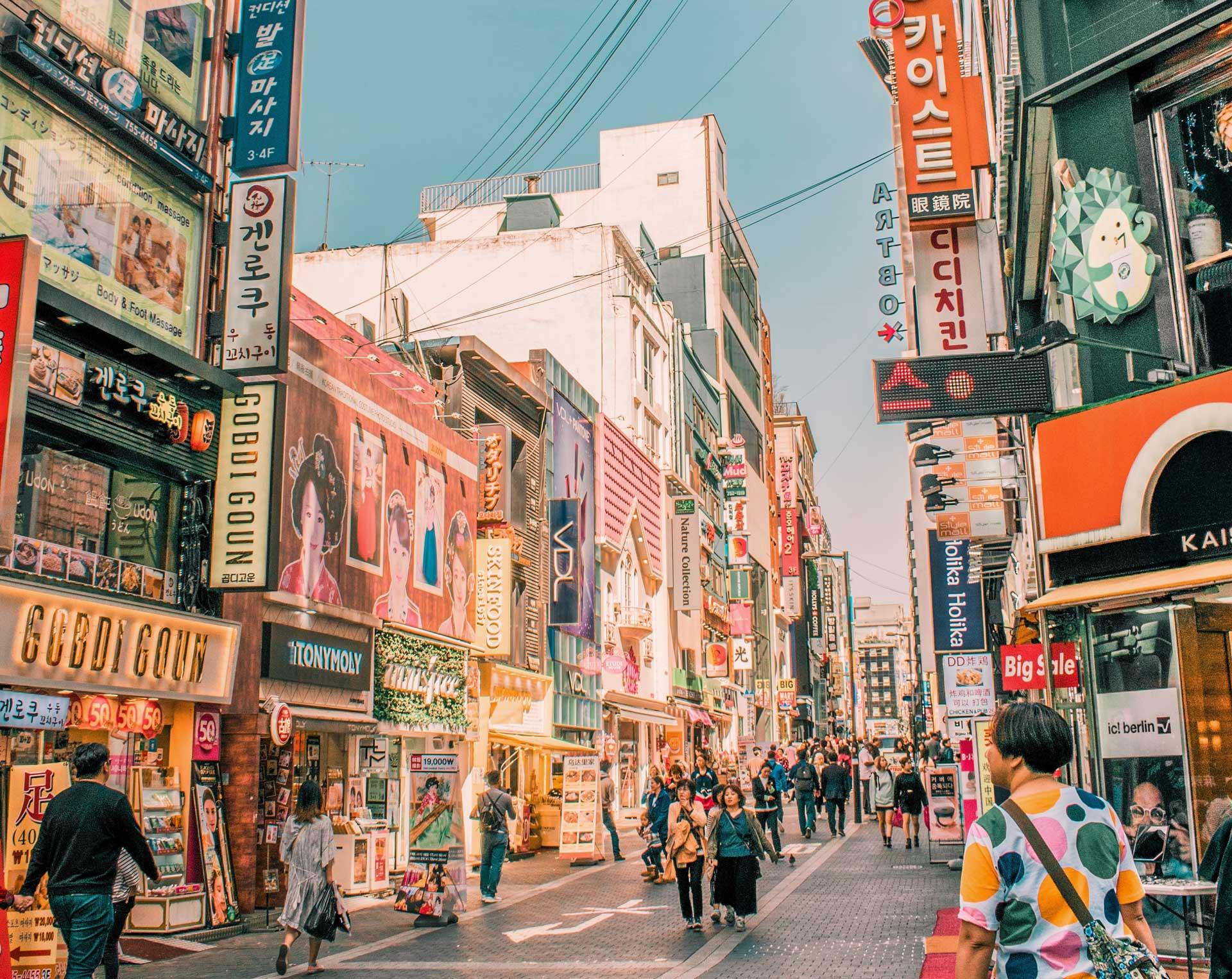 lära sig koreanska korea