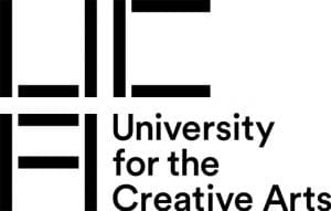 university for the creative arts logo